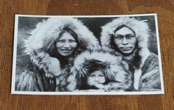 """Ansicht kaart  """" Indianen gezin """""""