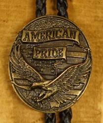 """Bolo tie  """"  America pride """""""