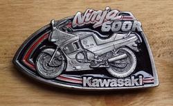 """Buckle / gesp  """" Ninja 600R KAWASAKI  """""""
