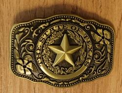 """Gesp buckle  """" Texas  1860 - 1865 """""""