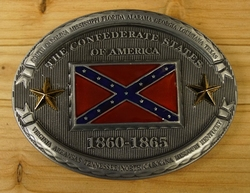 "Buckle  "" The confederate state of America ""  1860 - 1865"