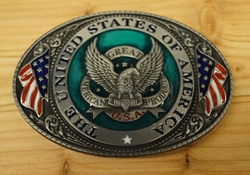 """Buckle  """" The united states of America """""""