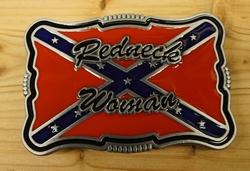 """Buckle / gesp  """" Redneck woman  """""""