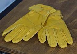 """Leren handschoenen  """" Naturel """""""