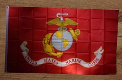 """Gevelvlag  """" United states marine corps """""""