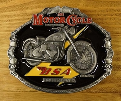 "Motor cycle buckle  "" BSA """