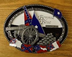 """Belt buckle  """"  Bonnie blue """""""