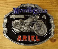 "Motor cycle buckle  "" Ariel """