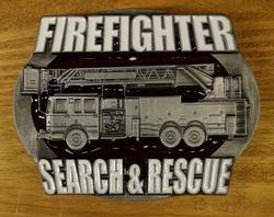 "Losse gesp  "" Firefighter search & rescue ""  (Brandweerman)"