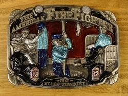 """Losse gesp  """" The American FireFighter """"  (Brandweerman)"""