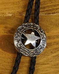 "Bolo tie  ""  Sheriff ster "" Zilver kleurig  UITVERKOCHT"