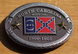"Buckle  "" North Carolina  1860 - 1865 """