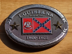 "Buckle  "" Louisiana  1860 - 1865 """