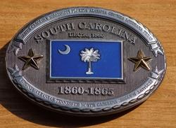 "Buckle  "" South Carolina  1860 - 1865 """