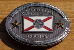 "Buckle  "" Florida  1860 - 1865 """