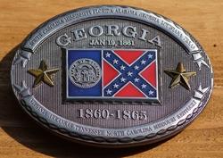 "Buckle  "" Georgia  1860 - 1865 """