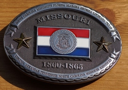 "Buckle  "" Missouri  1860 - 1865 """