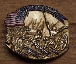 "Gesp  ""  Billy Yank 1861- 1865,   The vlag of union """
