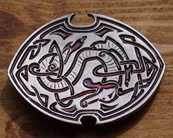 """Buckle / gesp  """" Celtic snake """""""
