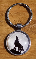 "Sleutelhanger  "" Wolf in de mits """