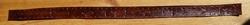 """Hoedband  """" Stierenkoppen, indiaanse figuren """" Bruin"""