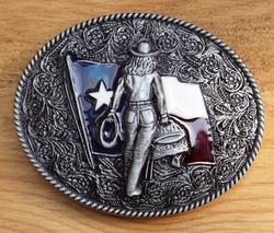 "Belt buckle  "" Cowgirl """