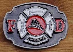 """Losse gesp  """" FD  Firefighter """""""
