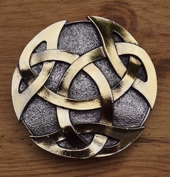 "Belt buckle  "" Celtic knot """