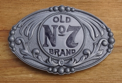 "Jack Daniels buckle  "" Old no 7 brand """