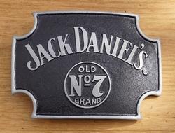 """Buckle  """" Jack Daniel""""s Old no 7 brand """"  Zwart"""