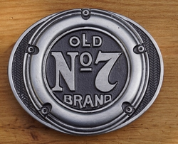 "Jack Daniel""s buckle  "" Old no 7 brand """