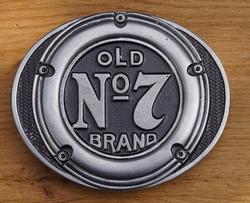 "Jack Daniel""s buckle  "" Old no 7 brand """