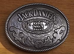 "Jack Daniel""s buckle  "" Old no 7 brand ""   Siermotieven"