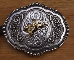 """Wrangler  buckle  """" Rodeo """""""
