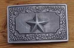 """Buckle  """"  US Texas star """""""