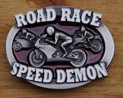 """Buckle / gesp  """" Road race"""""""