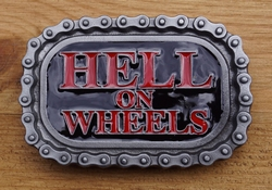 "Buckle / gesp  "" Hell on wheel """