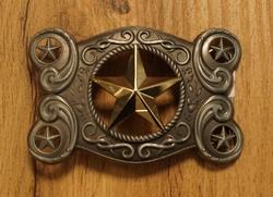 """Buckle  """"  Texas star """""""