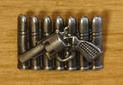"Concho "" Kogels met revolver """