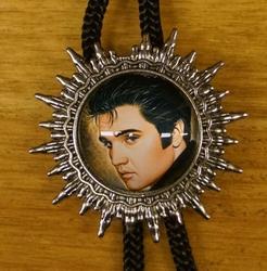 """Bolo tie  """"  Elvis """"   UITVERKOCHT"""