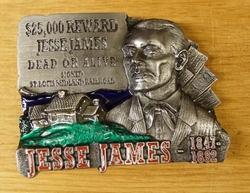 "Western buckle  "" Jesse James """