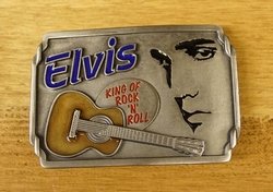 "Elvis gesp  "" Elvis King of Rock 'n Roll """