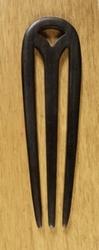 Haarstokje voor knot  Zwart