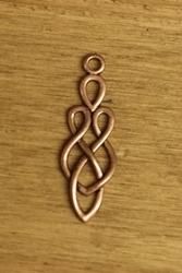 """Concho  """" Keltisch teken """"  brons kleurig"""