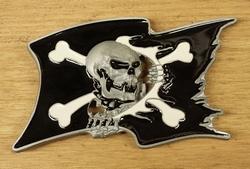 "Belt buckle  "" Piratenvlag """