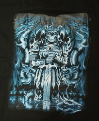 "T-shirt "" Samurai guard "" Zwart"
