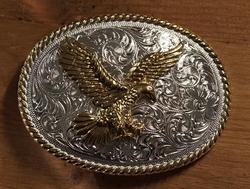 """Sterling zilveren buckle """" Adelaar """""""