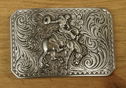 "Sterling zilveren buckle "" Rodeo """