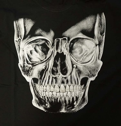 "T-shirt "" Skull ""  Zwart"