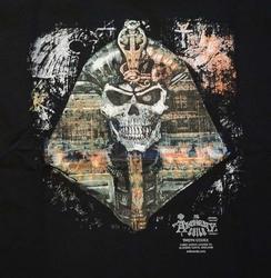 """T-shirt """" Farao doodskop """"  Zwart"""